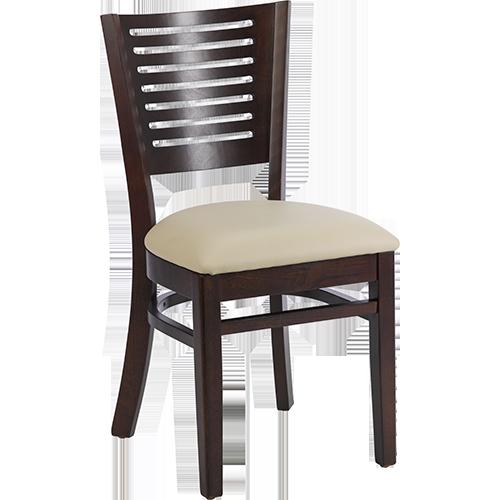 emma mit polster schwarz restaurantstuhl restaurantst hle. Black Bedroom Furniture Sets. Home Design Ideas